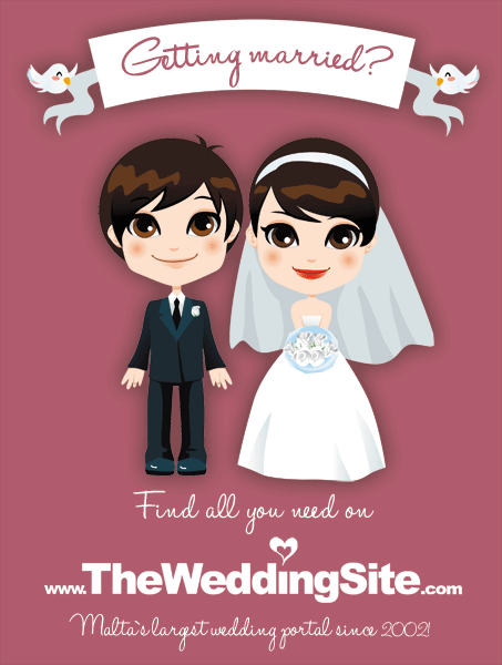 Wedding Planning Stress?  Help is here!  www.TheWeddingSite.com - getting married Malta, wedding planning Malta
